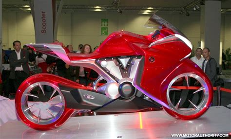 honda shows  concept motorcycle  intermot