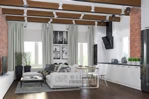 Loft Living Room Ideas by Modern Loft Style Living Room Design Ideas Of 2015
