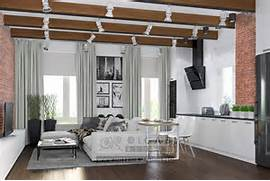 Medium Attic Living Room Design Modern Loft Style Living Room Design Ideas Of 2015