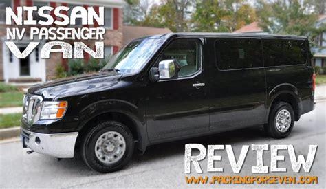 Nissan Nv Passenger Review nissan nv 3500 12 passenger review v8 model