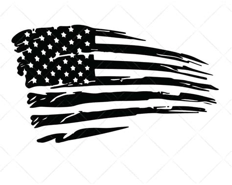 Free vector icons in svg, psd, png, eps and icon font. American Flag Distressed 7 SVG Cut Files for Cricut and ...