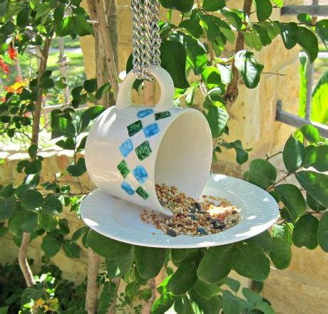 teacup diy bird feeder favecraftscom