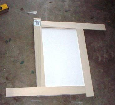 fancy fronts cabinet refacing cabinet door refinish adding trim shaker style do it