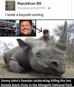 What a dick. Shouldn't support Jimmy John's then! | Spread ...
