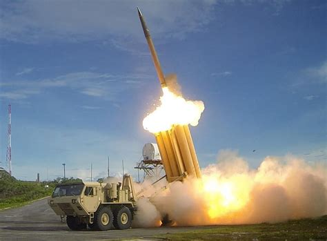 military  thaad launch