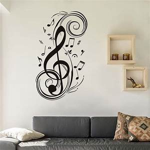 DCTOP DIY Musical Note Home Decor Music Wall Stickers ...
