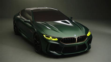 Bmw M8 Gran Coupe Concept Official Video