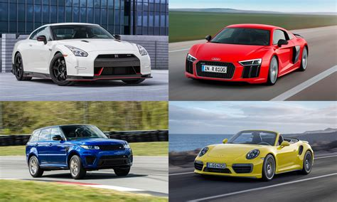 Performance Cars : High-performance Awd Vehicles Of 2016