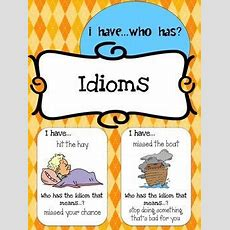 18 Best Images About Free Idioms Printables On Pinterest  Student, Animals And Figurative
