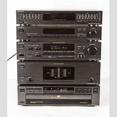 Complete Vintage Sony Stereo System From Early 1990s