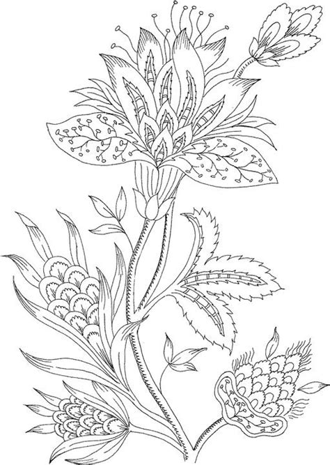 flower coloring pages  adults  coloring pages