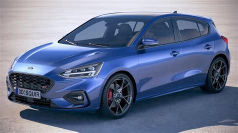 2020 ford focus rs st 3d focus 2020 st turbosquid 1392903
