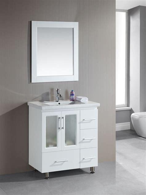narrow bathroom vanities    inches  depth