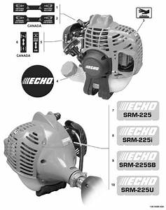Echo Srm 225 Parts Diagram