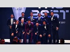 Cristiano Ronaldo, Neymar and Lionel Messi named in FIFPro