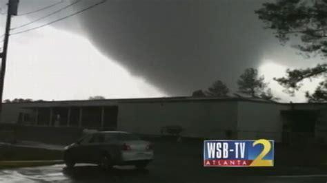 tornado touches georgia video abc news
