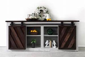 Console Table in Seagull Gray & Java Gel Stain General