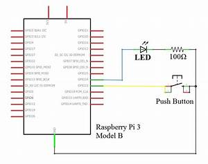 How To Interface A Push Button With Raspberry Pi