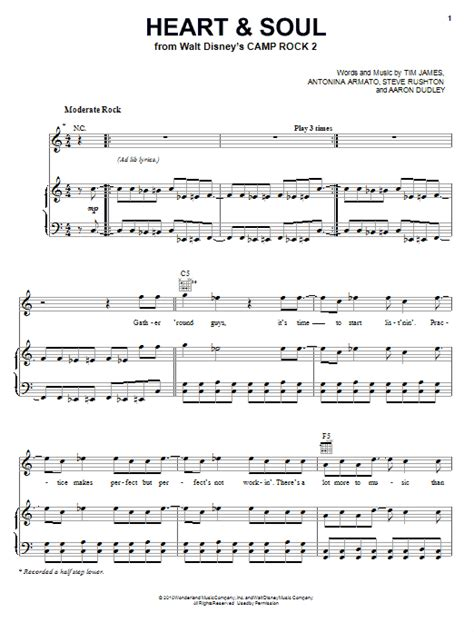 Sheet music is available for piano, voice, guitar and 14 others with 9 scorings and 2 notations in 13 genres. Heart And Soul | Sheet Music Direct