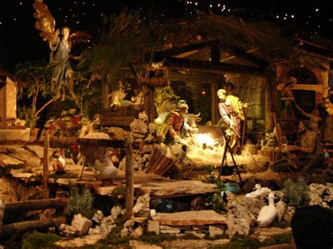 vatican nativity scene photo