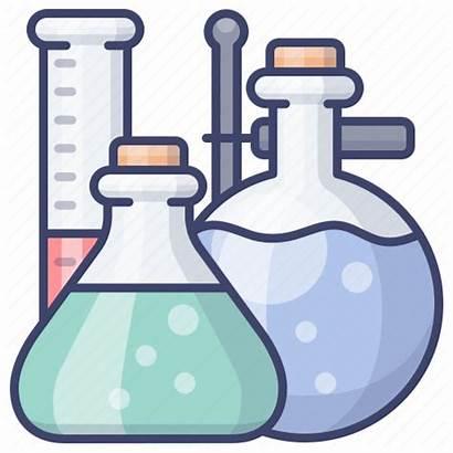 Chemistry Lab Instruments Laboratory Icon Editor Open