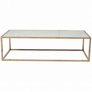 elle cube white marble coffee table with brass frame ash With white marble and brass coffee table