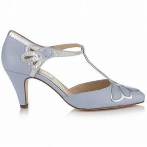 Gardenia Closed Toe Leather Wedding Shoes By Rachel