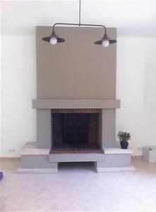 modernisation d39une cheminee With ordinary peindre son salon en gris et blanc 1 conseil decoration salon taupe
