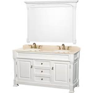 shop wyndham collection andover white undermount sink oak bathroom vanity with