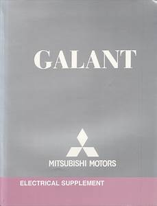 2011 Mitsubishi Galant Wiring Diagram Manual Original
