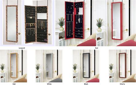 The Door Mirrored Hanging Jewelry Armoire Jewelry Armoires Dressing Mirror Door Hang Or Wall Mount