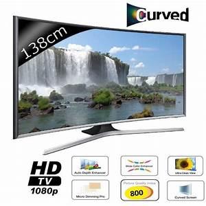 Promo Tv Auchan : samsung ue55j6370 smart tv curved full hd smart tv ~ Teatrodelosmanantiales.com Idées de Décoration