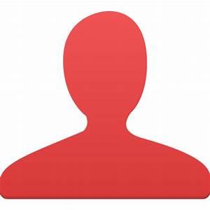 User red Icon | Flatastic 4 Iconset | Custom Icon Design