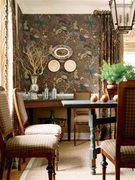 country dining room wallpaper wallpapersafari