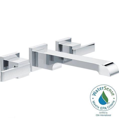 Delta Ara Tub Faucet by Delta Ara 8 In Widespread 2 Handle Bathroom Faucet Trim