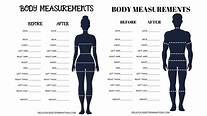 Printable Body Measurement Chart – Delicious Determination