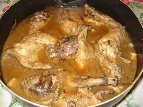 cuisine un lapin ma gibelotte de lapin cuisine en f 234 te de gabrielle