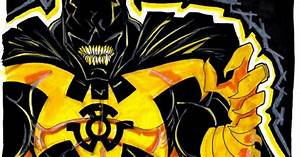 Yellow lantern symbiote batman | symbiotes or klyntar and ...