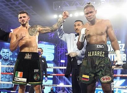 Joe Smith Heavyweight Wbo Title Alvarez Eleider