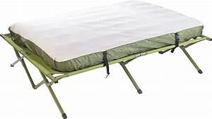 Lit De Camp 2 Personnes : tente sur lev e 2 personnes avec lit de camp matelas et ~ Teatrodelosmanantiales.com Idées de Décoration