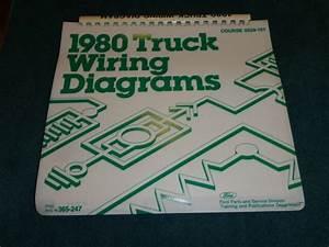 1980 Ford Truck Master Wiring Diagram Set Original