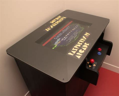 Raspberry Pi Arcade Table: 11 Steps (with Pictures)