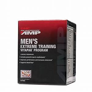 Gnc Pro Performance Amp Mega Men Powered Extreme Training Vitapak Program Capsules  30 Count In