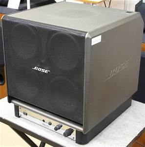 Bose SW-4 Powered Subwoofer - Image 04 - What's Inside