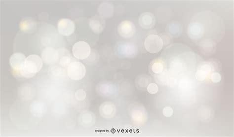 silver glitter bokeh background vector