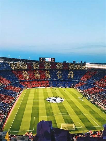 Nou Barcelona Camp Fc Soccer Stadium Clubs