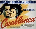 MOVIE POSTERS: CASABLANCA (1942)