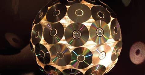 lingkar warna  produk karya kerajinan tangan  dvd bekas