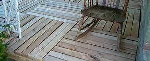 Terrasse Avec Palette : terrasse en palette de bois terrasse palette en bois ~ Melissatoandfro.com Idées de Décoration