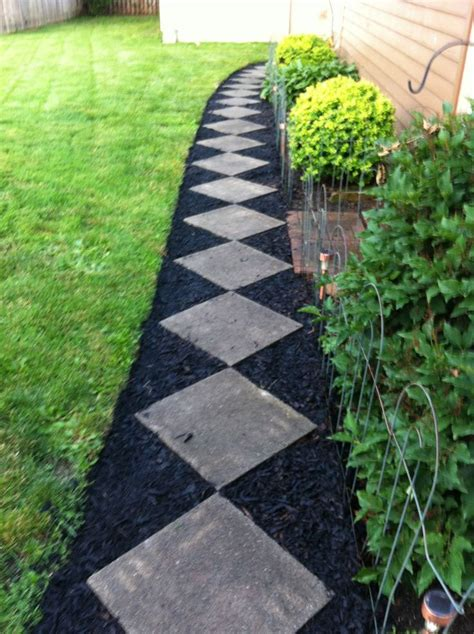 mulch landscape ideas 7 low cost materials can utterly transform the way your garden looks
